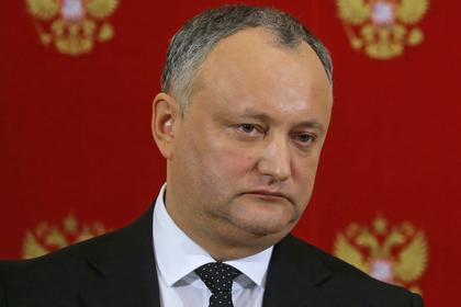 Из президента Молдавии захотели «сделать Кеннеди»