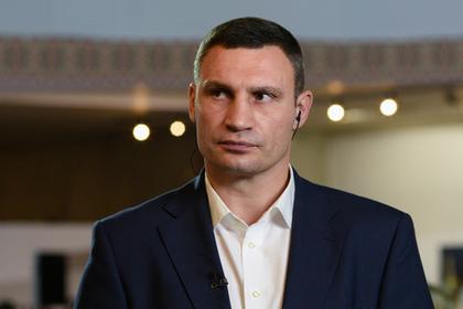 Кличко случайно похвастался смертностью в больницах Киева