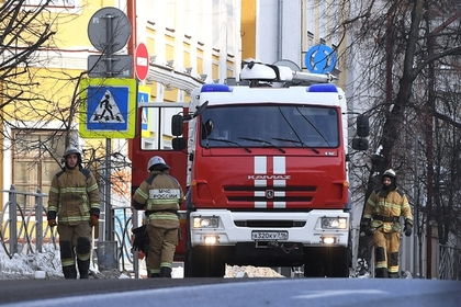 В Москве загорелась консерватория имени Чайковского