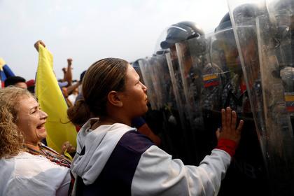 Венесуэла развернула войска на границе с Колумбией