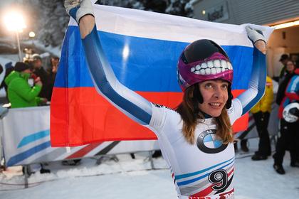Кубок мира по скелетону впервые выиграла россиянка
