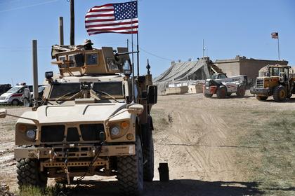 США опровергли планы остаться в Сирии