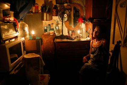 В Каракасе снова пропал свет