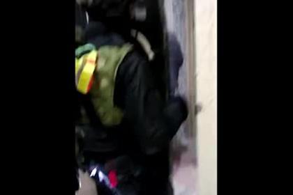 Задержание последнего члена банды охотников на инкассаторов попало на видео