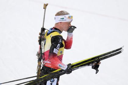 Норвежский биатлонист Бе обвинил россиянина Логинова в трусости