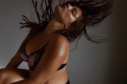 Тучная модель снялась в белье ради тучных женщин