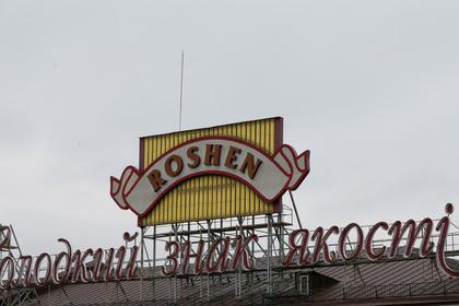 В Киеве подожгли третий за неделю магазин Roshen