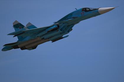 Су-34 выполнил «петлю Нестерова»