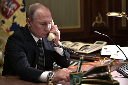 В Кремле раскрыли цель звонка Назарбаева Путину