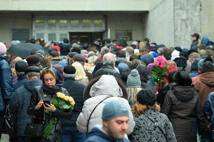 В Москве похоронили Юлию Началову