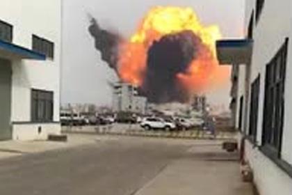 Взрыв на китайском химзаводе убил людей и вызвал землетрясение