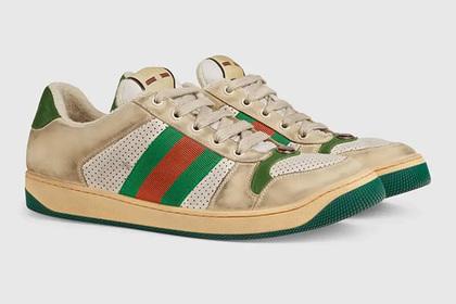 Gucci решил продавать «грязную» обувь по 870 долларов