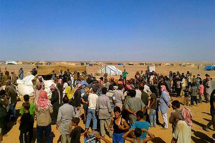 В России рассказали о массовой гибели беженцев в сирийском лагере