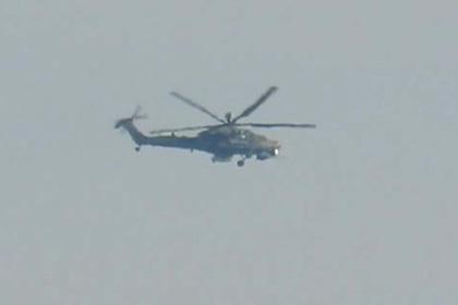 Новейший российский вертолет заметили в Сирии