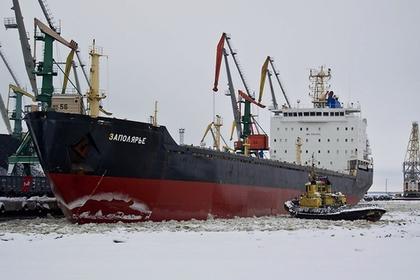 Российское судно арестовали в Испании