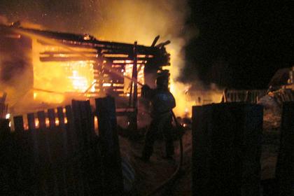 Российский студент спас семью из горящего дома
