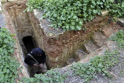 Террористы испугались решающих боев и попрятались в пещерах