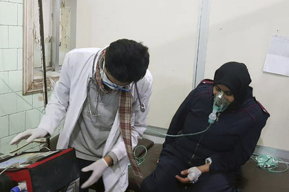 Сирийские боевики устроили газовую атаку