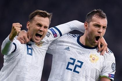 Сборная России разгромила Казахстан в отборочном матче к Евро-2020