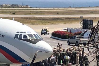 Российские самолеты прибыли в Венесуэлу с группой военных