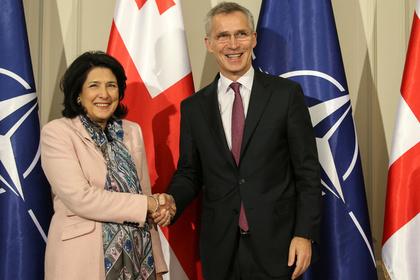 Грузии снова пообещали членство в НАТО