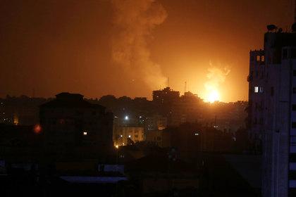 Израиль начал наносить удары по целям ХАМАС в секторе Газа