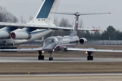 Самый редкий самолет ВМФ России заметили в Минске