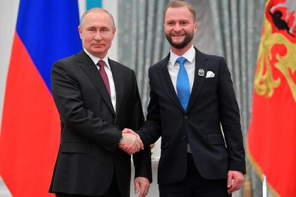 Путин наградил молодых деятелей культуры