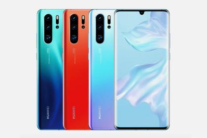 Huawei выпустила P30Pro с четверной камерой