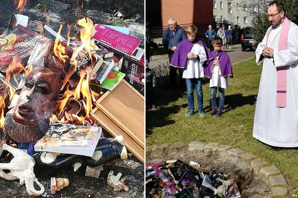 Священник из Польши извинился за сожжение книг о Гарри Поттере