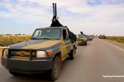Ливийский маршал захватил первый город по пути к Триполи
