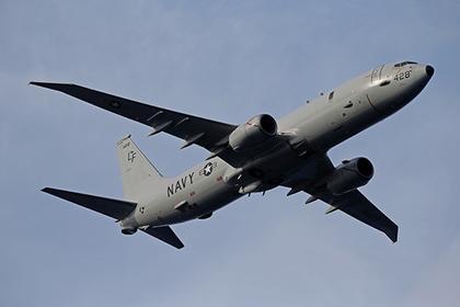 Американский самолет провел разведку у Крыма