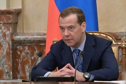 Медведев объявил о персональной ответственности министров за нацпроекты