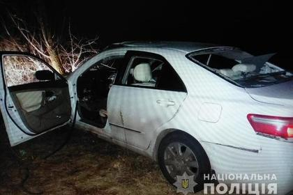 Под Киевом взорвался заминированный автомобиль