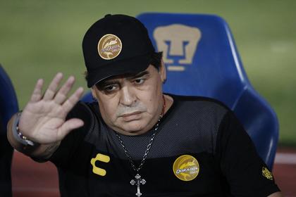 Марадона пригрозил уйти из футбола