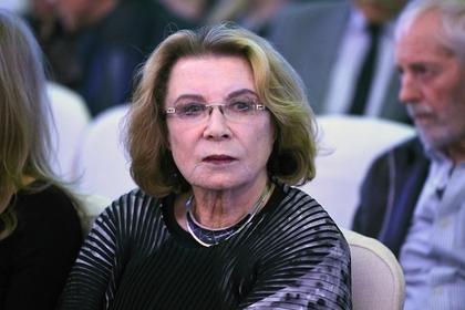 Актриса Алла Демидова попала в больницу