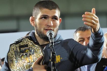 Нурмагомедов отметил годовщину чемпионства в UFC