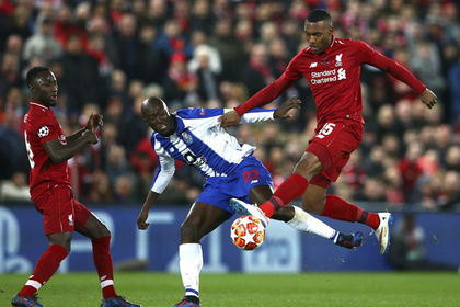 «Ливерпуль» и «Тоттенхэм» победили в первых матчах 1/4 финала Лиги чемпионов