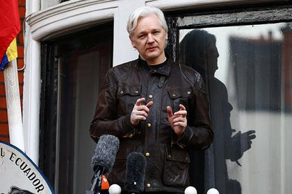 В Wikileaks рассказали о слежке США за Ассанжем