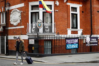 Эквадор объяснил отказ Ассанжу в убежище