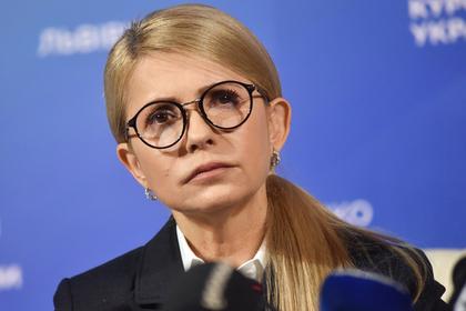 Тимошенко посоветовала Порошенко и Зеленскому перестать соперничать анализами