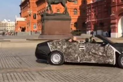 Кабриолеты из «Кортежа» Путина попали на видео
