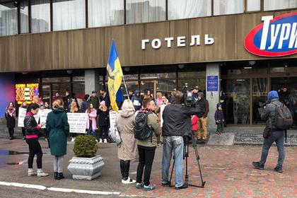 Украинские радикалы ополчились на лесбиянок