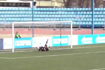 Футболист «Зенита» забил в свои ворота ударом с 30 метров