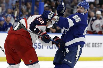НХЛ дисквалифицировала россиянина Кучерова