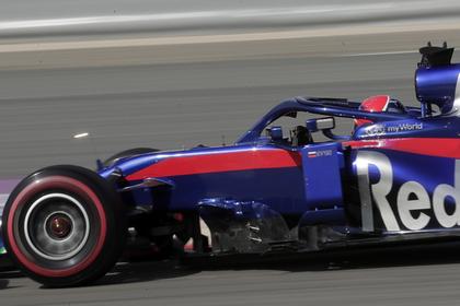 Квят врезался в два болида на «Формуле-1»