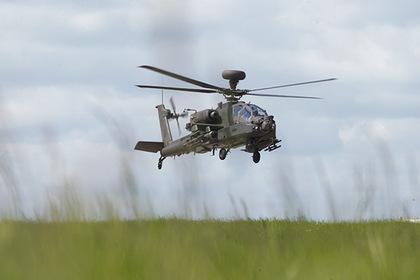 Великобритания отправила вертолеты в Эстонию