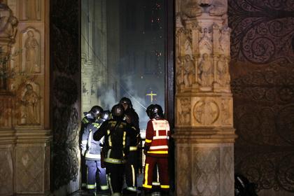 Стало известно о первом пострадавшем при пожаре в Нотр-Дам де Пари