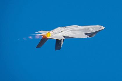 F-35A проследят за Россией и Ираном в Сирии