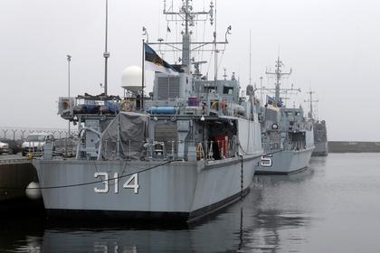 Флот прибалтийских стран признали беспомощным